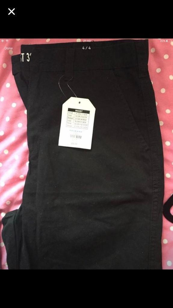 Brand new men's trousers with tags W30 L32