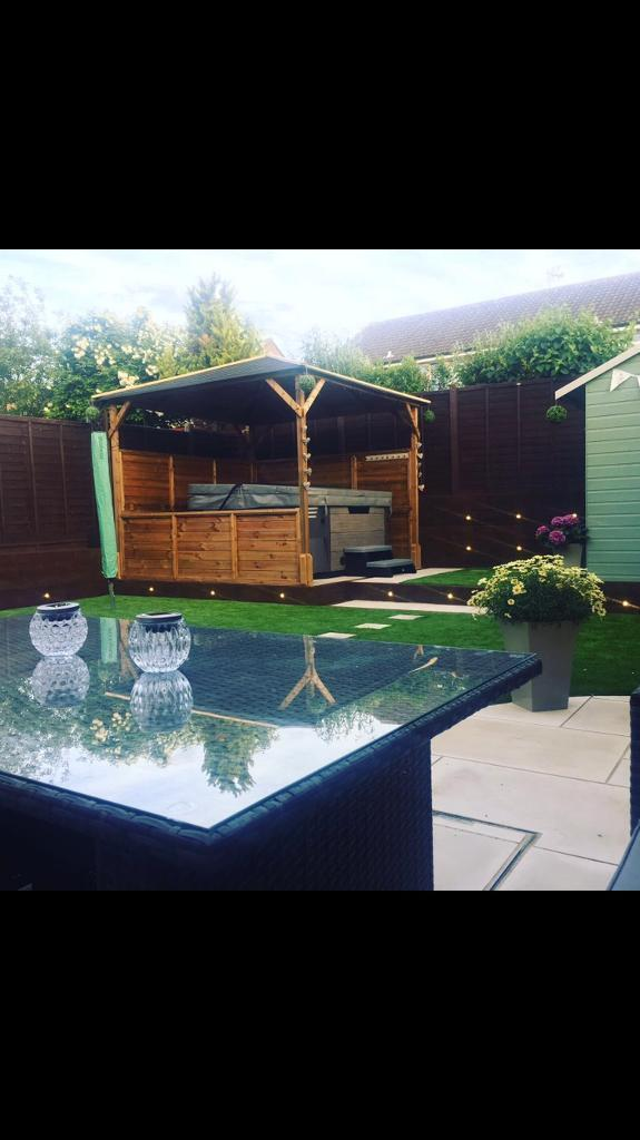 Timber Gazebo - Open to offers
