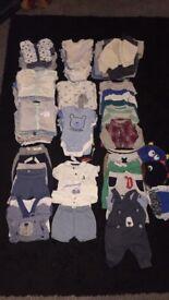 Baby boys bundle (107 items)