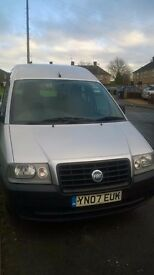 fiat scudo disability car