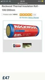 Thermal Insulation roll - Rockwool