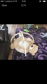 Mothercare baby gym bear