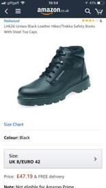Delta plus redwood steel toe capped boots