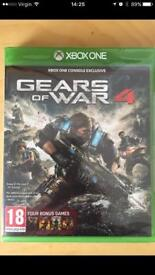 Gears of War 4 Xbox One (sealed)