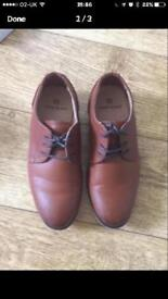 Boys brown formal shoes- River Island