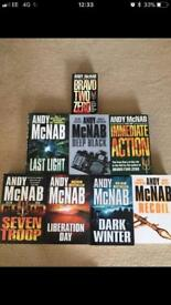 Andy mcnab books for sale