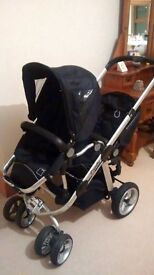 ICandy pear double buggy for sale, good condition, includes rain covers £250 ono