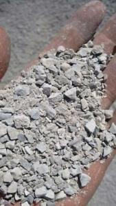 Limestone screenings! Perfect for yard improvement: grading, paving, etc. Pick up in Barrie. Delivery for extra charge.