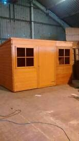 shed wooden 2x3 m
