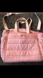 Armani nappy change bag.