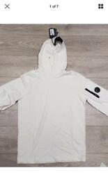 "C.P company hooded jacket zip top xlarge. Chest 22"" p2p"
