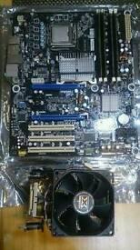 Intel Quad Q9550 CPU + DP45SG Motherboard + 6GB DDR3 RAM - Gaming Desktop PC Bundle