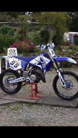 Yamaha YZ 125 2009 motocross cr kx rm