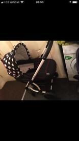 3 in 1 pushchair