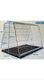 Dog car crate