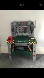 Bosch light and sound work bench