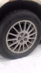 Chrysler Sebring winter tires with alloy rims