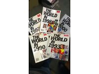 Rare collection of Historical Magazines from the 1990s - The Economist - Yearly Publication - £3