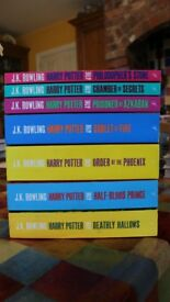 Harry Potter Complete Collection (1-7) Excellent Condition