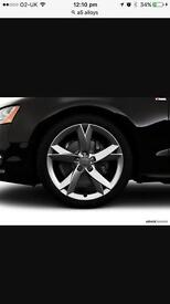 Brand new Audi A5 and Rs6 alloys 5x100 5x112