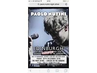 4 X Paolo Nutini 'Night Afore' Friday 30th December