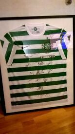 XL autographed football tops