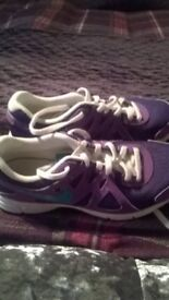 Girl Nike Trainers Sized 3.5