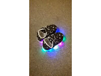 Size 5.5 LED toddler sneakers