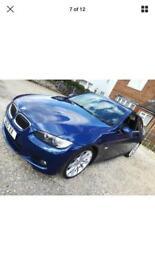 2008 BMW 325D M SPORT COUPE E92 AUTO PADDLE SHIFT LE MANNS BLUE