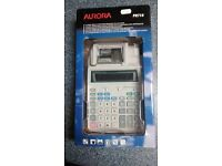 Aurora PR710 12 Digit Multi-Function Printing Calculator - Brand New in Box