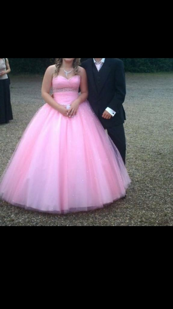 Prom Mori Lee prom dress (bubble pinkin Great Yarmouth, NorfolkGumtree - Prom Mori Lee prom dress size 8 12 bubble pink worn once, perfect condition. Beautiful dress! Viewing advised