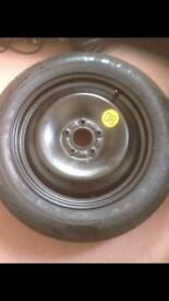 Spare ford wheel