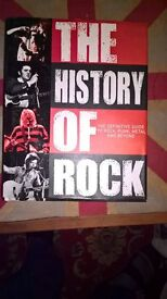 COLLECTION OF ROCK BIOGRAPHIES