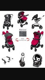 SOLD SOLD SOLD Chicco urban pushchair pram travel system