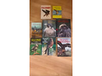 Falconry books by philip glasier,jemima parry jones,nick fox,more