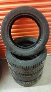 (181) Pneus Hiver - Winter Tires 255-50-19 Continental RunFlat
