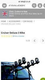 Raleigh Peruzzo Cruiser Deluxe car 3 Bike carrier