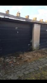 Huddersfield garage to let near the Infirmary