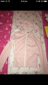 Kids pink hoodie