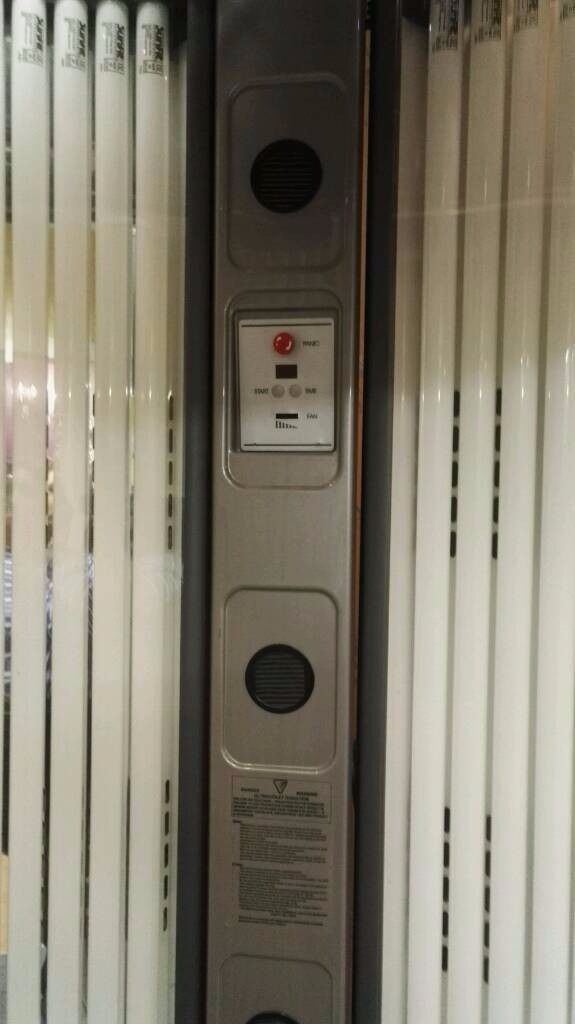 64 tube commercial sunbed - fully working - token meter & tokens included £300 for quick sale.