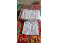Cot bumper and cot quilt cover