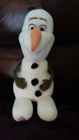 Olaf build a bear