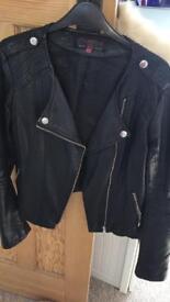 Size 12- leather jacket!