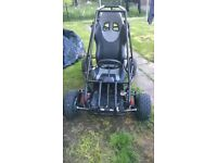 honda off road buggy project 6.5hp