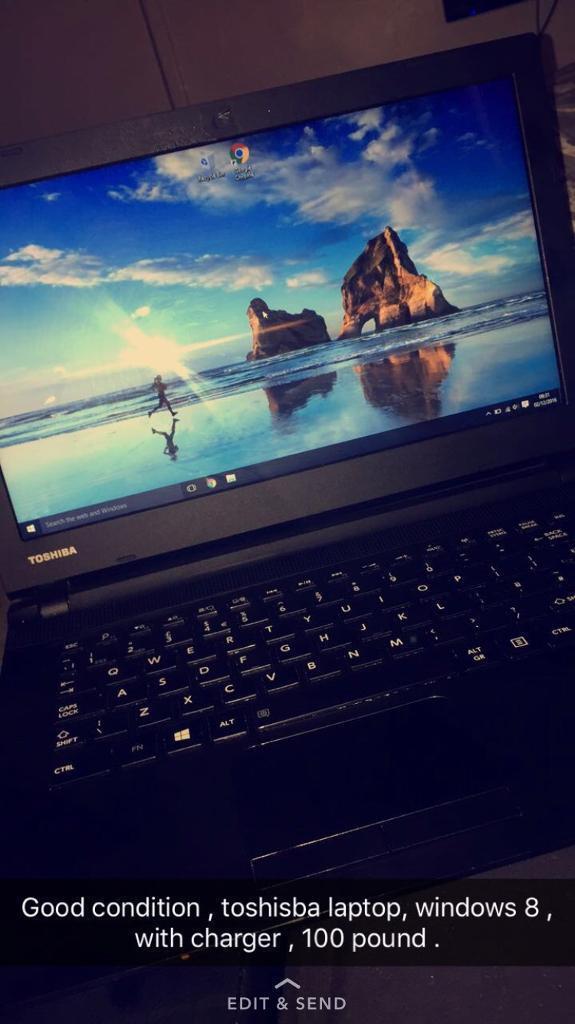 Toshiba Laptop c40