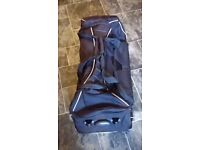 black hold all / back pack / trolley ( brand new )