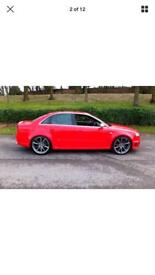 "Audi rs4 v spoke 20"" alloys/tyres"