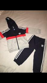 12-18 months Adidas Tracksuit