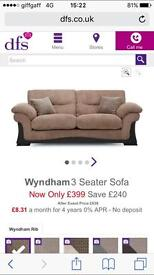 2 x large 2 seater suite