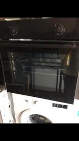 Logik Black Plug in Single Electric Oven New and Unused